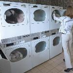 Each location offers a coin-op guest laundry
