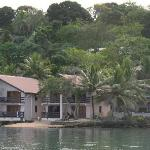 Fatumaru Lodge from the kayak