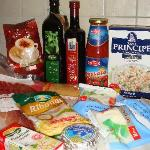 Food from supermarket