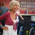  Filming of Benidorm 22/09/10