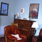 Living room at Fidelma B and B