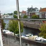 View of the canal from B&B window