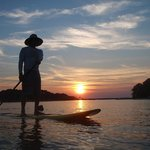 Soothing Sunset SUP Trip
