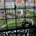  From the bell tower in Brugge