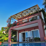  Our villa with the private pool