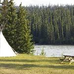 Old Entrance Cabins & Teepees Foto