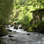 Stanghe Waterfalls at Gilfenklamm Gorge