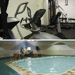 Pool and Fitness Room