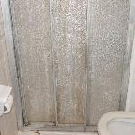 Shower Doors in room