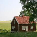 the sweet and cozy Red House