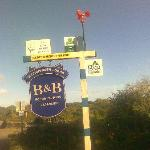The B&B sign