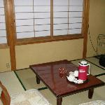 Arashiyama, the room we stayed