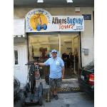  Kostos in front of his Athens Segway Tour Store