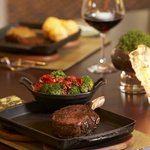 Chef Kurtis Habecker's steakhouse cuisine