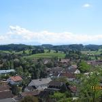 An aerial view from Andechs