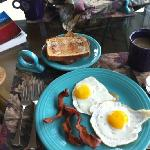 Breakfast made by me