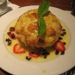  White Chocolate Bread Pudding!