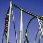 Hulk ride in universal