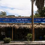 The bus station we arrived at in Todos Santos.