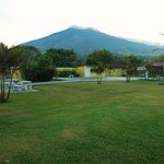 views of the volcan from the Complex
