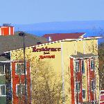  Residence Inn with Lake Superior in background