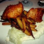 Fish & Chips - great halibut!