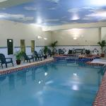great indoor pool and only place around with one