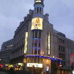 The Prince of Wales Theatre on the evening we saw the show