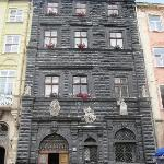 May 12, 2010 Lviv Black House (Chorna Kamianytsa) in Market Square