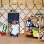 The 12-foot kids' Play Yurt