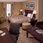 Our Junior Suites are popular with families who can enjoy the larger space of the suite by day a