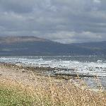 View from Cromarty Caravan