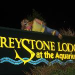 Foto van Greystone Lodge at the Aquarium