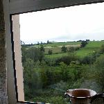  View of Newgrange from bedroom window.