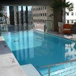 Pool area Oct 2010