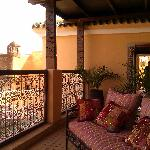 roof terrace seating
