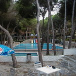  view of swimming pool from beach bar