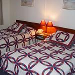  The majority of rooms have two double beds, non-smoking