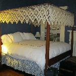 Beautiful four-poster bed