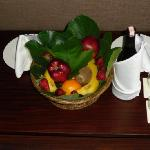 Complimentry fruit basket