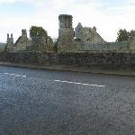  View of Boyle Abbey from Cesh Corran&#39;s front door