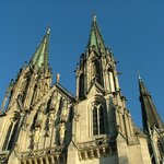 The three spires of Saint Wenceslas