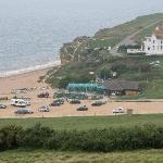 Hive Beach Cafe and beach, short walk from Chesil Beach