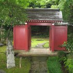 Red gate of Gotoh Museum