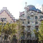 Gaudi creation from broken tiles!