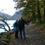 Chris & Val - walking in the Lake District