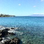 View from Puna Point, Napili Bay, Maui