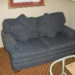 Couch in king room