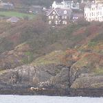  Looking across Port Erin bay towards Rowany Cottier