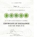 CERTIFICATE OF EXCELLENCE FOR THE YEAR 2010